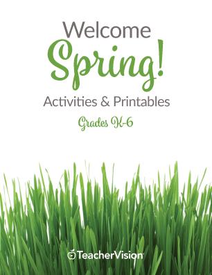 Spring Printable Book