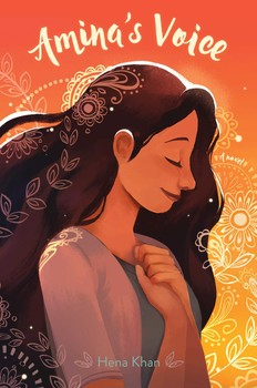Amina's Voice children's book cover photo