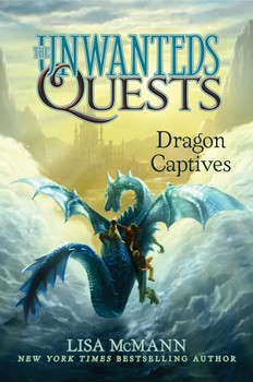 Dragon Captives children's book cover image