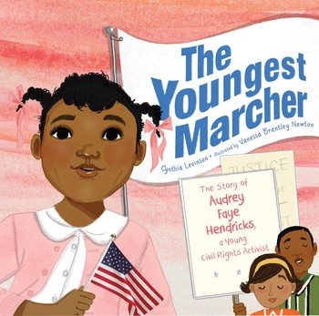 The Youngest Marcher children's book cover