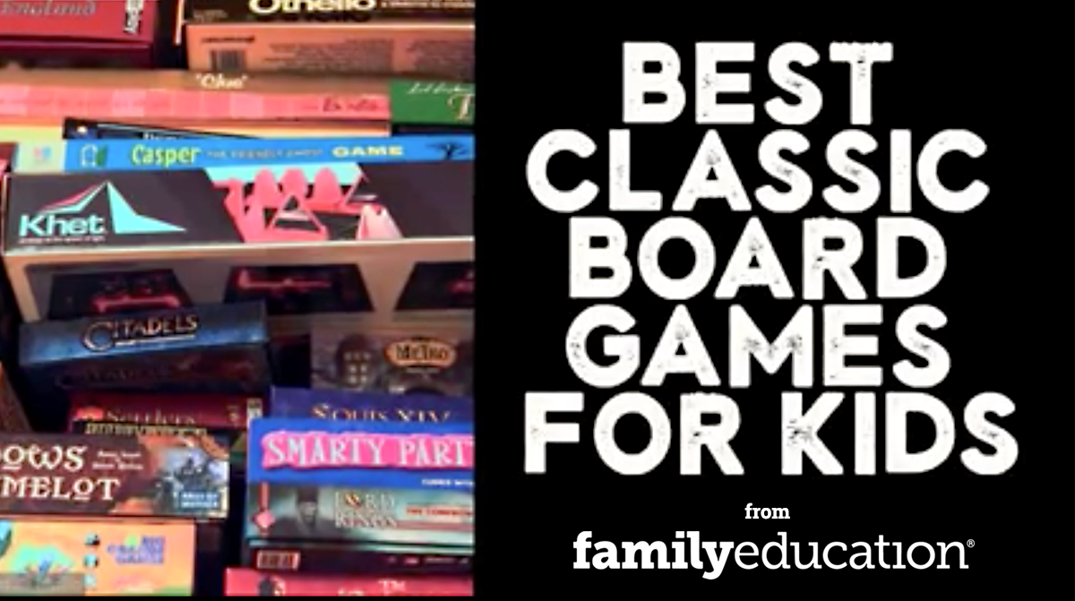 Best classic board games for kids