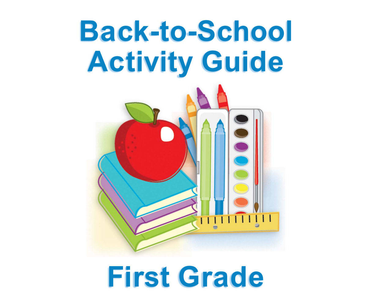 First Grade Back to School Activity Guide