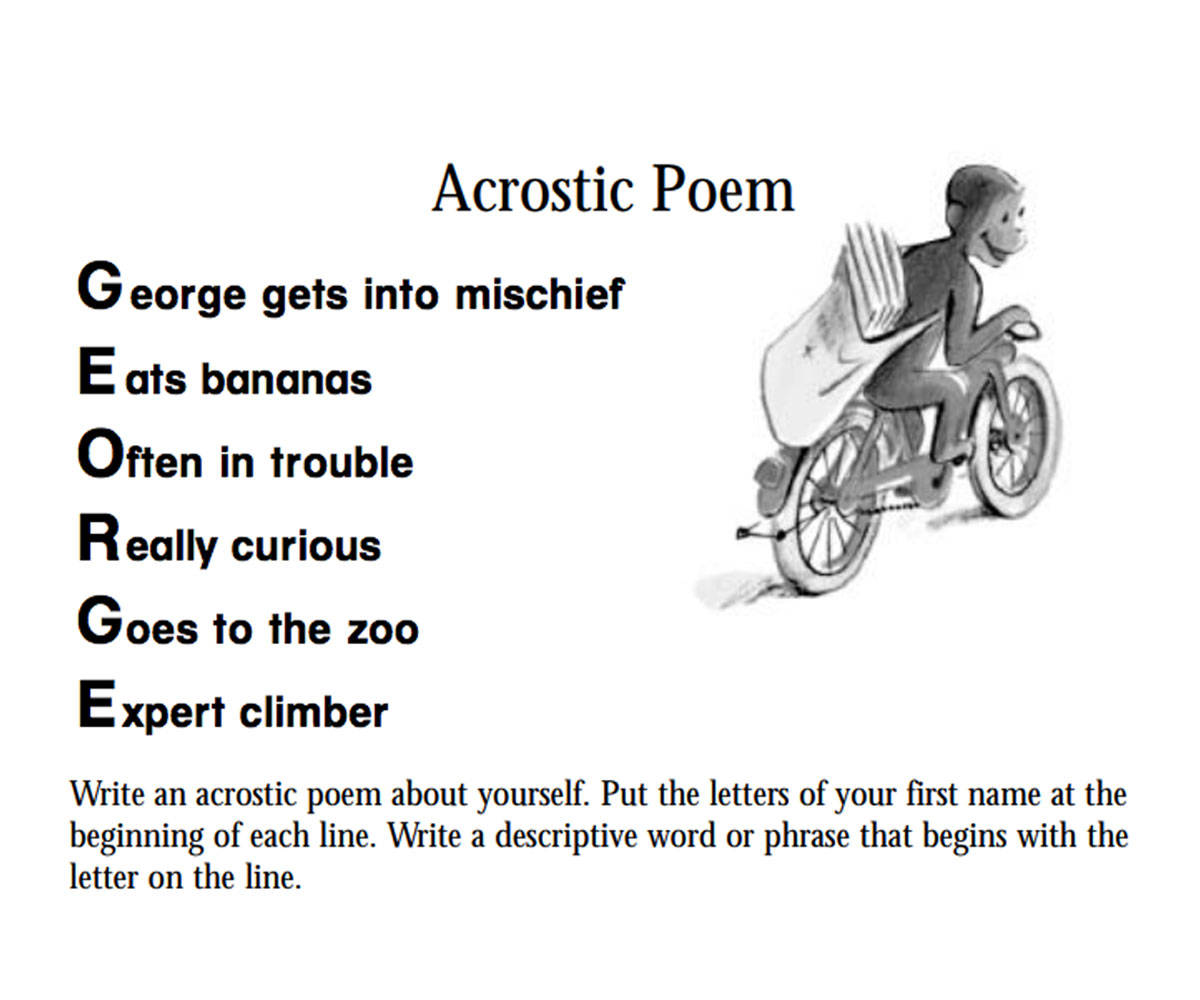 "acrostic poems 8 writing an acrostic all poems need the ""right words"" and the acrostic poem is a good way to introduce this concept students gain experience with word choice as they look."
