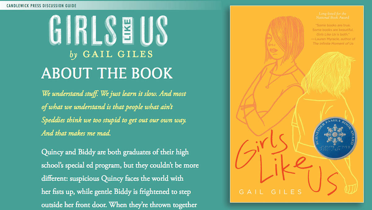 Girls Like Us Children's Book