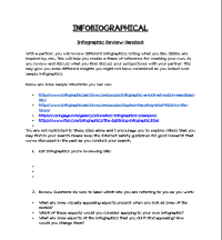 Infobiographical Infographic Review Handout