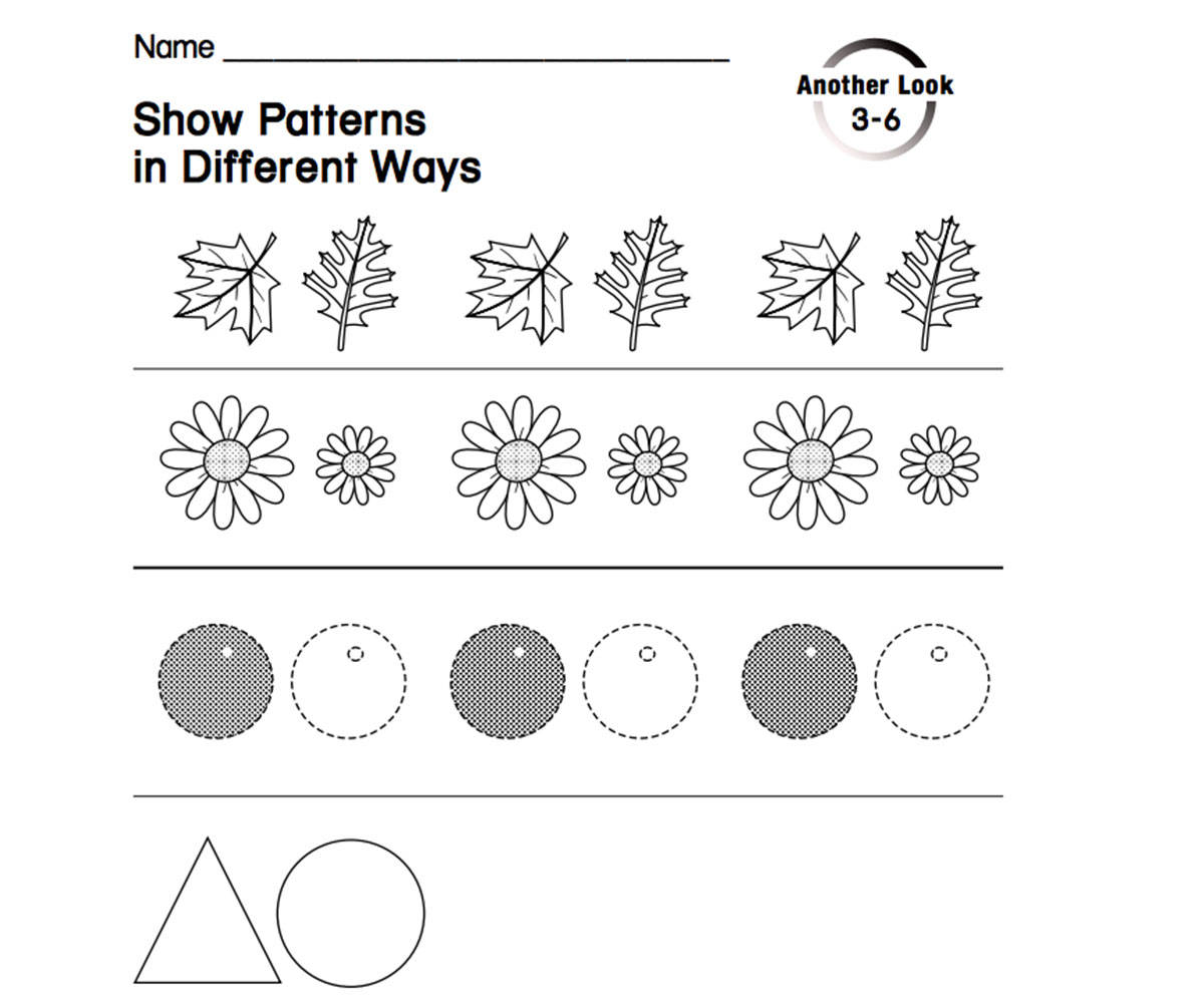 show patterns in different ways