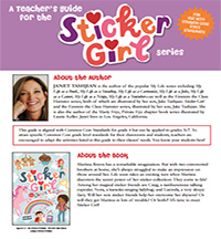 Sticker Girl Teaching Guide