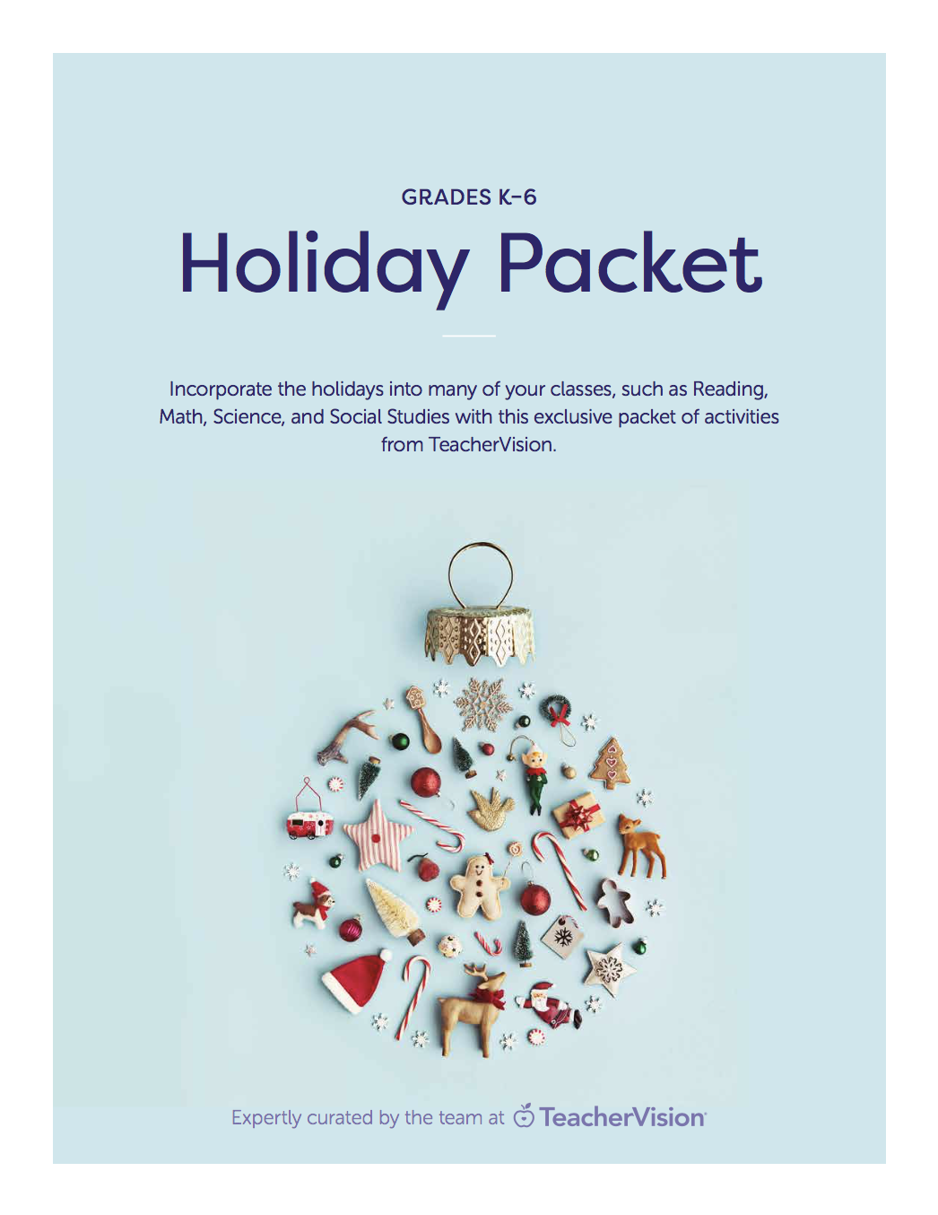 holiday packet of activities