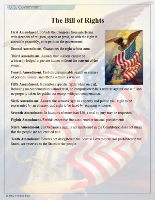 printable constitution and bill of rights pdf