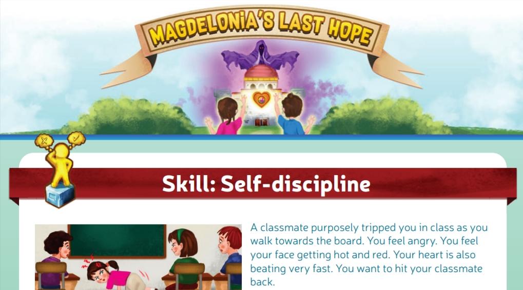 Magdelonia's Last Hope: Anger Management for Kids