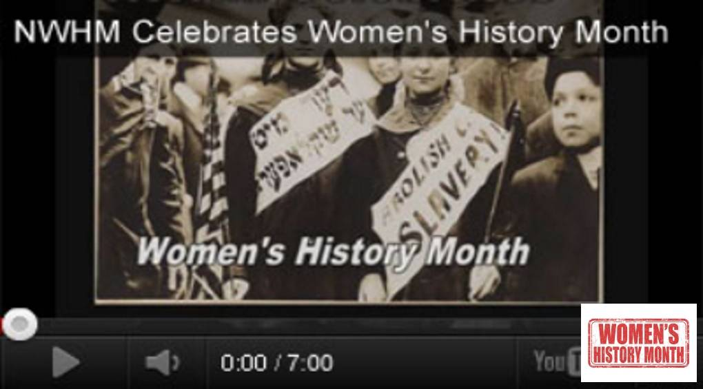 Women's History Month Videos and Activities