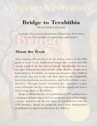 Bridge to Terebithia Teaching Guide