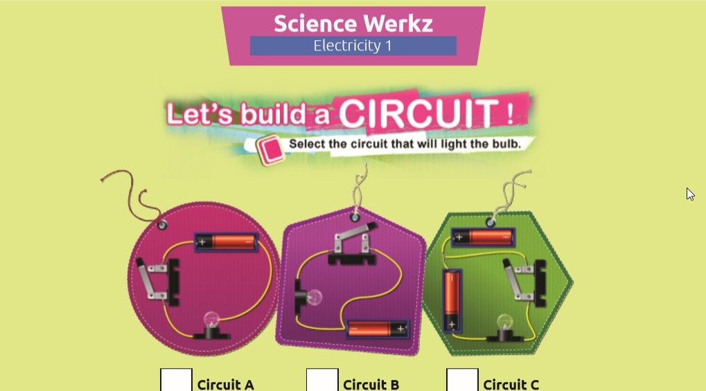 Let's Build a Circuit Science Activity for Grades 4-6