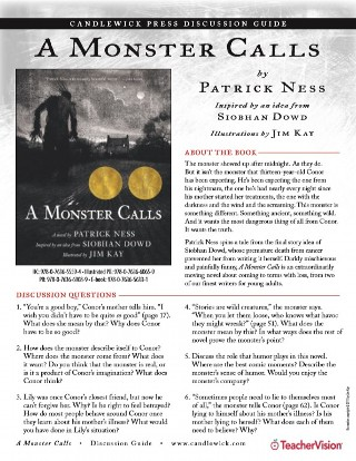 A Monster Calls Book Discussion and Reading Guide