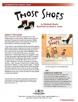Those Shoes Teaching and Book Discussion Guide