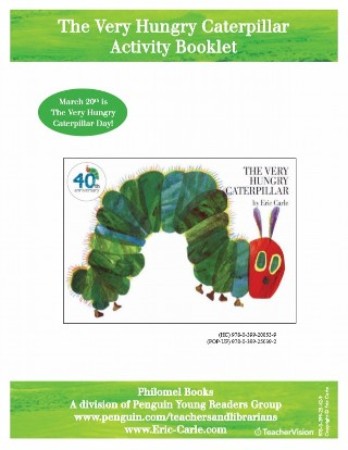 photo relating to The Very Hungry Caterpillar Story Printable known as The Rather Hungry Caterpillar Pursuits Booklet - TeacherVision