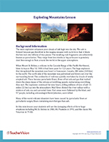 Exploding Mountains Background Information Cover Image