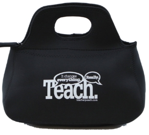 Neoprene Lunch Bag from Teacher Peach