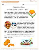 Day of the Dead Reading Packet