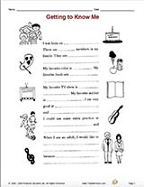 Worksheets for Kids   Free Printables   Education together with Trending Worksheets   Everyday Sch   Everyday Sch in addition Getting to know you Worksheet moreover  furthermore  moreover Favorite Foods   Worksheet   Education together with Fox Facts  Habitat Information   Worksheets For Kids likewise Life Science   Education in addition Using  mas in lists additionally Filling Out the FAFSA® Form   Federal Student Aid further Student Info Beginning of Year Social Media Printable   clroom furthermore Getting to know you   ESL worksheet by robertastle hotmail besides Getting to Know Me   TeacherVision in addition Quiz   Worksheet   Directions in Spanish   Study moreover  as well Make The New Year Amazing  The Home of Amazing Coaching and. on get to know you worksheet