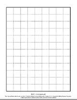 2-cm Square Grid (BLM 7)