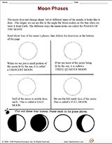 Moon Phases Printable Activity