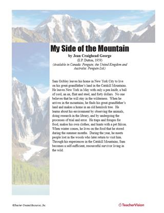 Teaching Guide for My Side of the Mountain