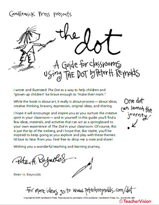 The Dot Activities Guide for International Dot Day