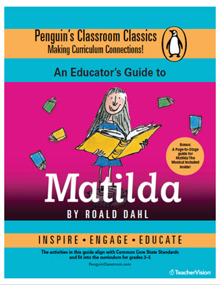 Matilda by Roald Dahl Common Core Reading Guide