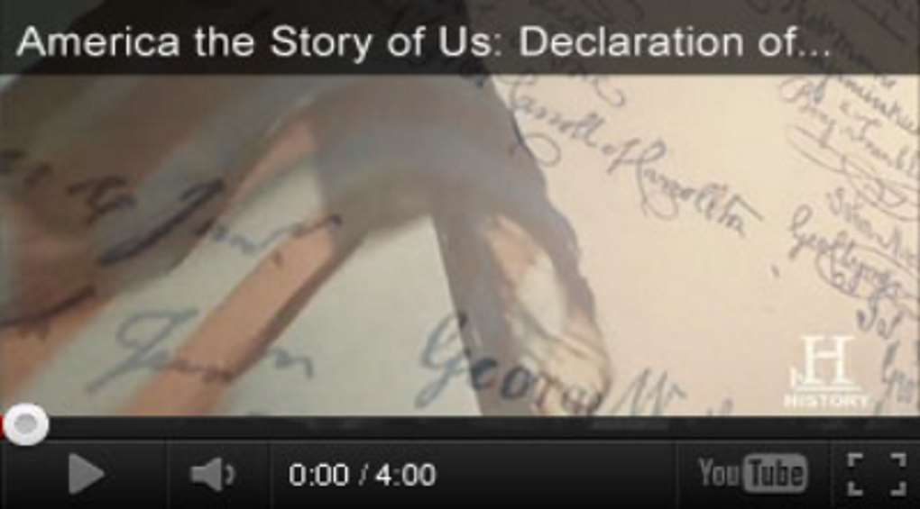 Declaration of Independence – Videos & Activities