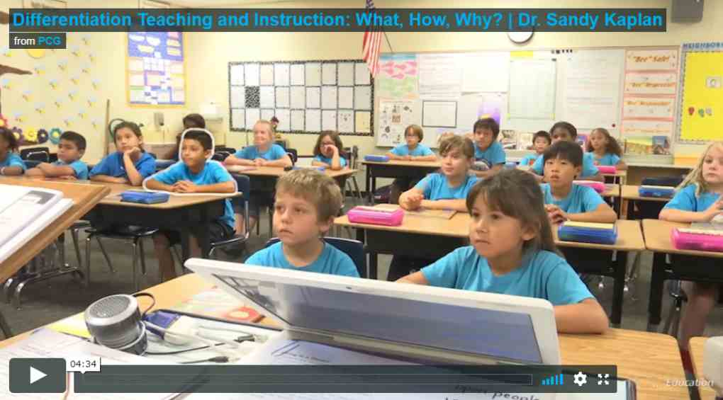 Differentiating Teaching and Instruction