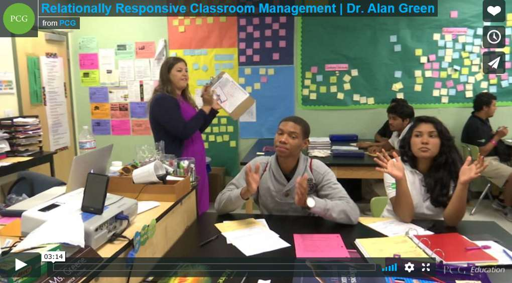 Relationally Responsible Classroom Management