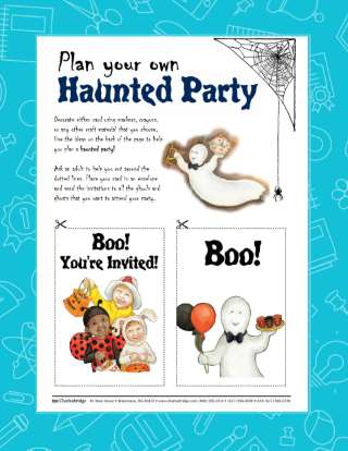 Haunted Party Halloween Activity Guide