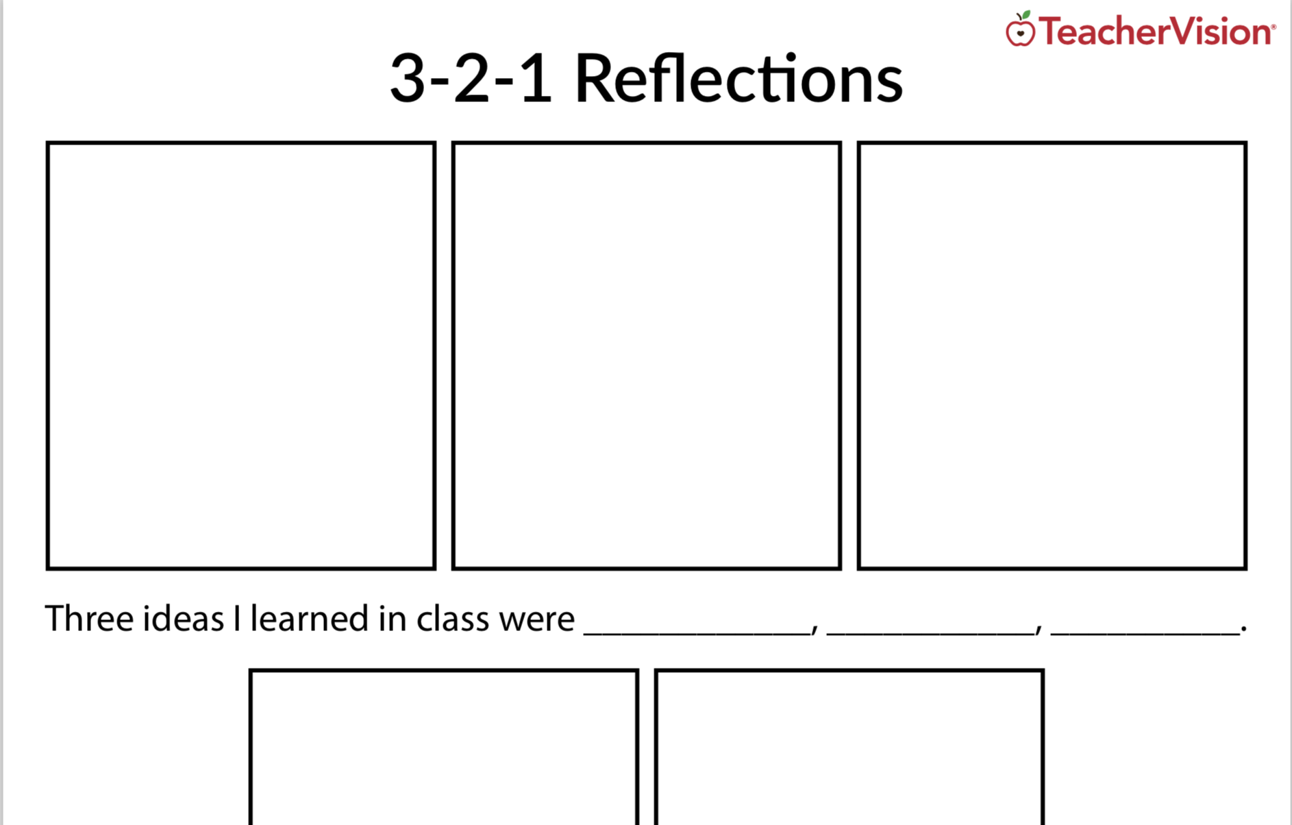 3-2-1 Reflection