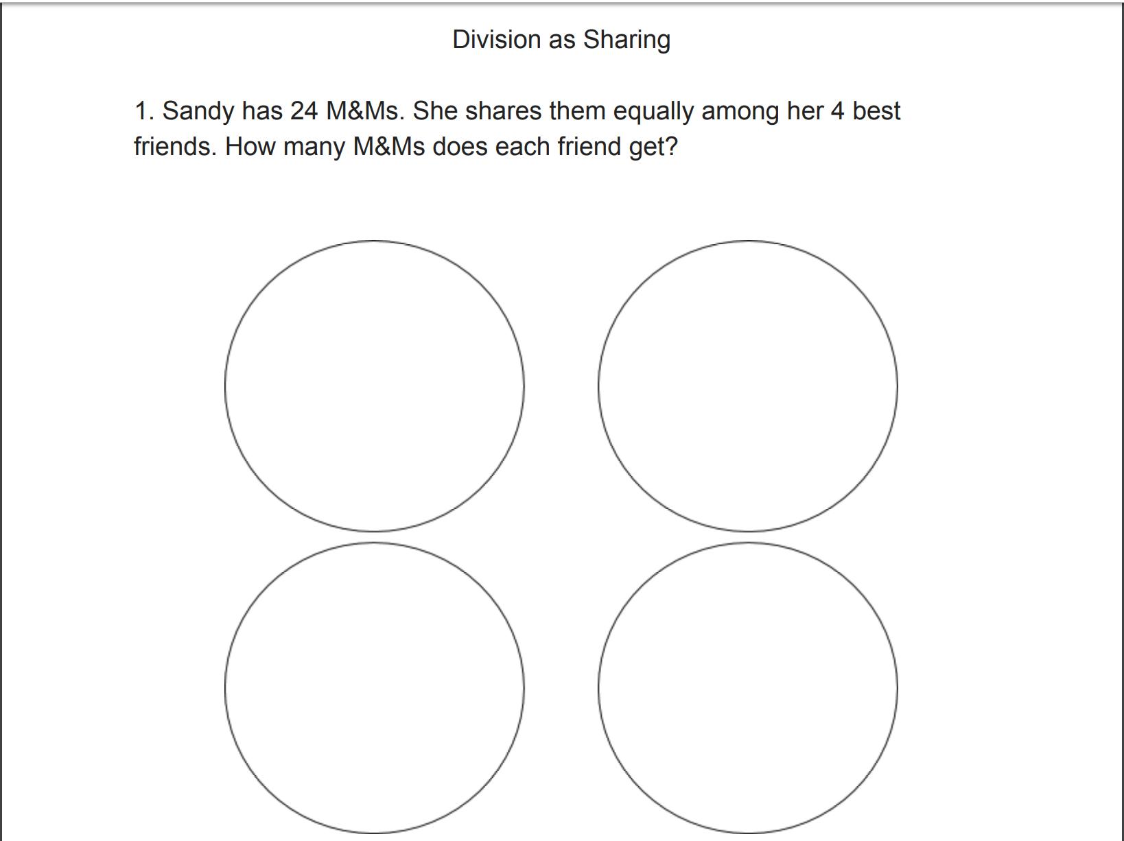 Division Lesson