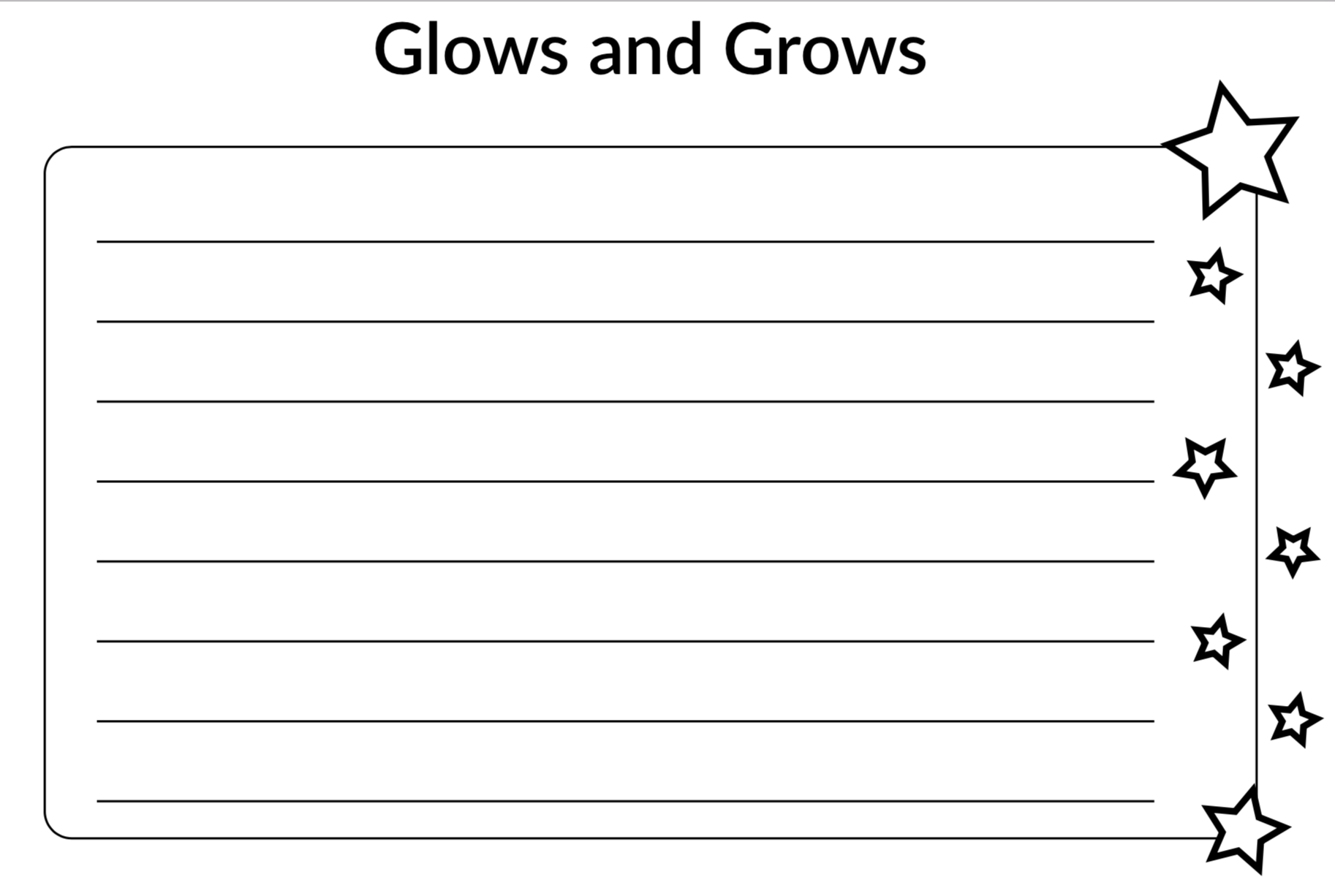 Glows and Grows Image