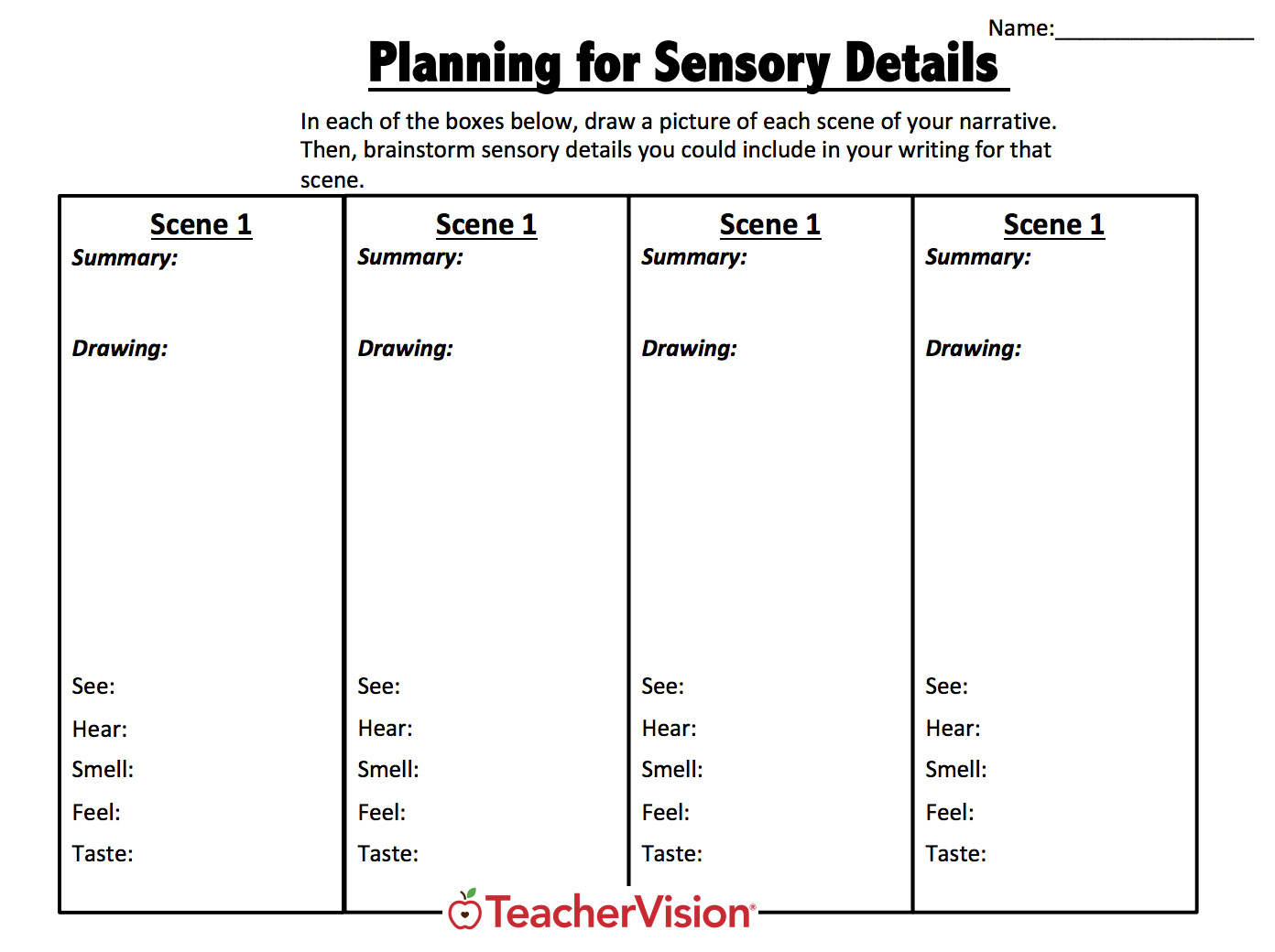 photo about Story Map Template Printable called Image Organizers for Academics Grades (K-12) - TeacherVision