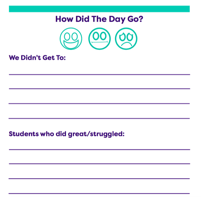 Printable Classroom Forms for Teachers - TeacherVision