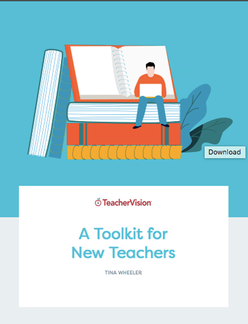A packet of resources for new teachers