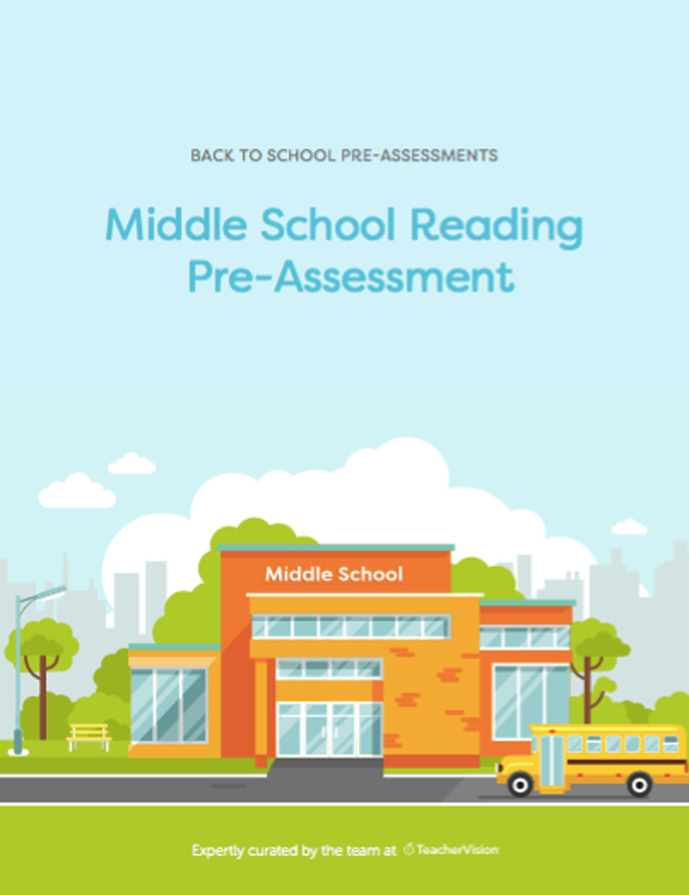 A set of questions for assessing middle school readers