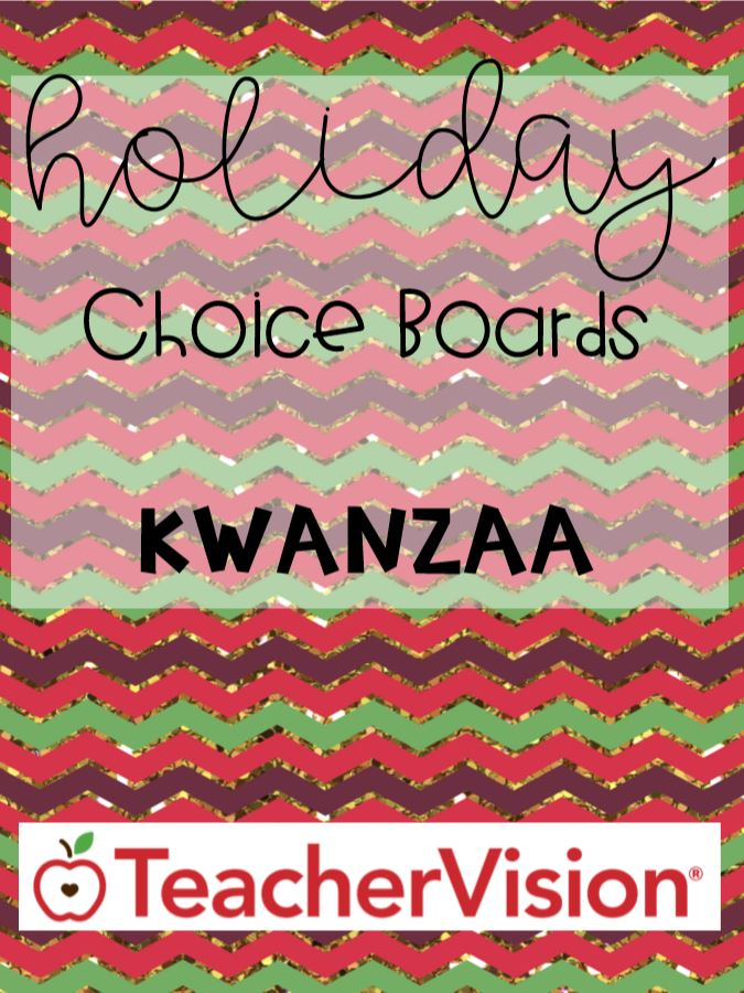 Kwanzaa ELA, math, social studies activities for elementary classrooms