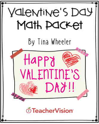 Valentine's Day Math Packet for Grades K-2