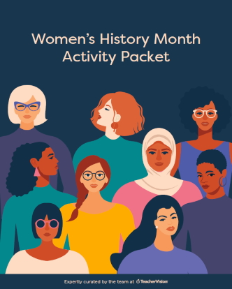 Women's History Month Themed Packet
