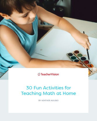 30 Fun Activities For Teaching Math At Home Themed Packet