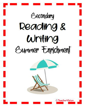 Secondary Summer Reading and Writing Enrichment Activity Packet