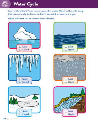 TinkerActive Science Activity Lesson: The Water Cycle (Grade 2)