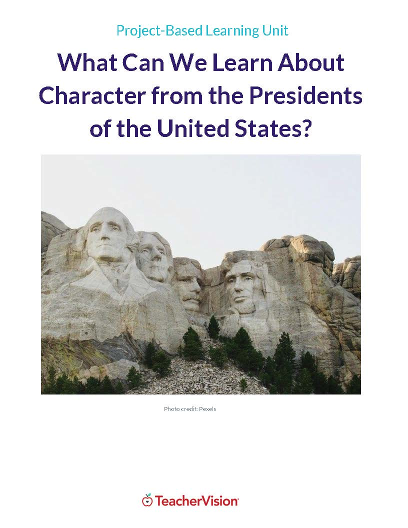Presidents' Day Unit Cover