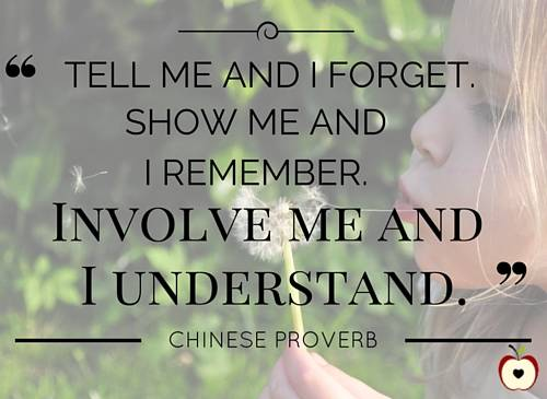 Involve me and I understand