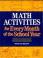 Math Activities for Every Month of the School Year