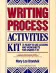 Writing Process Activities Kit